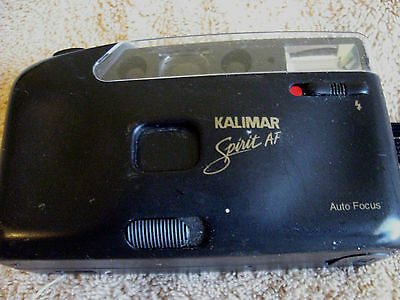 Kalimar Spirit AF 35mm Auto Focus Point & Shoot Camera Built in Flash C8-5