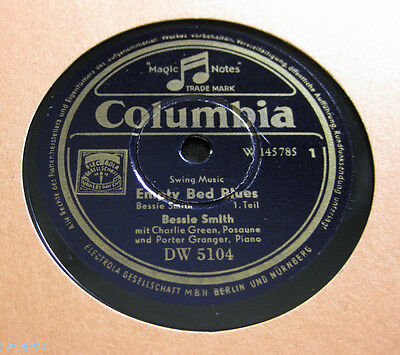 "Bessie Smith & Charlie Green, Porter Granger - ""Empty Bed Blues"" 1&2 COLUMBIA"