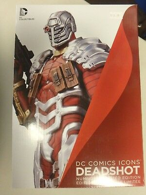 Deadshot DC Icons statue. New.