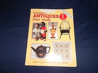 ~ Schroeder's Antiques Price Guide Eighth Edition 1990 Collector Books Vintage ~