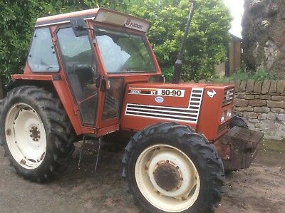 Due In Fiat 80-90 4Wd Tractor 1993 40K Box 5100 Hrs More Photos And Price Come