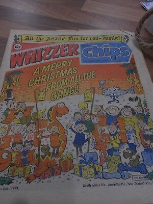 Whizzer & Chips COMIC 29th December 1979 ideal Birthday Present!