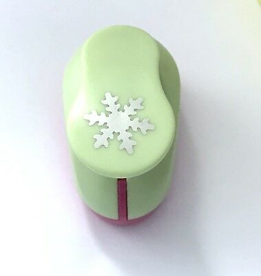 "1"" Large Snowflake Paper Punch Cutter Scrapbooking Punches Punches Craft Puncher"