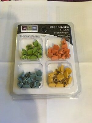 We R Memory Keepers Extra Large SQUARE SNAPS Subtle Set #70077-7