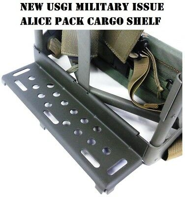 NEW Genuine Military Issue USGI Alice Pack Frame Shelf Cargo Shelf NIB