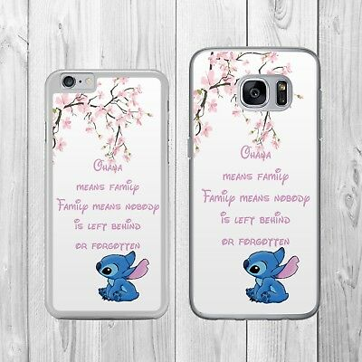 DISNEY INSPIRED LILO AND STITCH OHANA   Phone Case Cover for iPhone Samsung