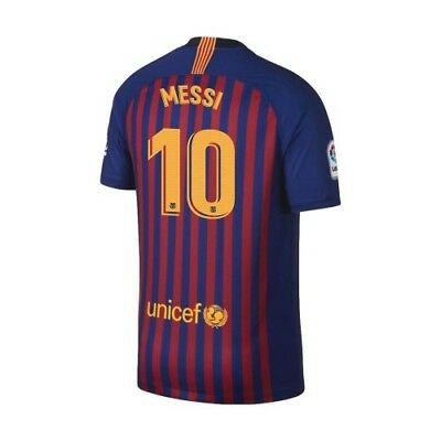 Nike FC Barcelona 2018 - 2019 Home Messi  10 Soccer Jersey Kids - Youth 8094f8990