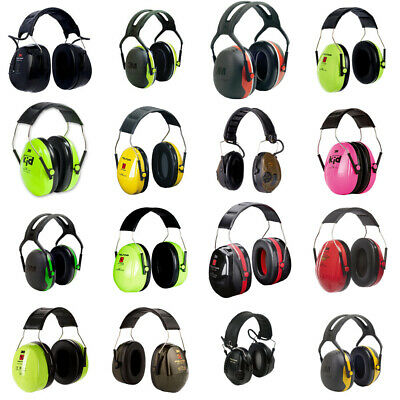 Ear Muffs Headband 3M Ear Defender Headset Hearing Protection Safety Heath PPE