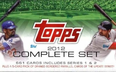 2012 Topps Base (1-220) U Pick  Complete Your Set