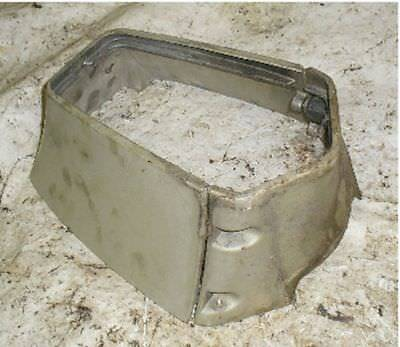 1971 60 HP Evinrude Outboard Lower Driveshaft Housing Covers Cowl Bracket