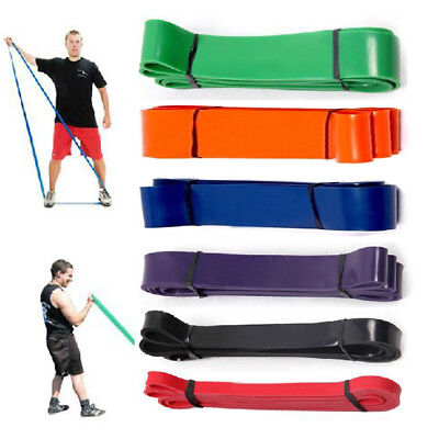 Heavy Duty Resistance Band Loop Fitness Yoga Pilates Stretch Exercise Workout