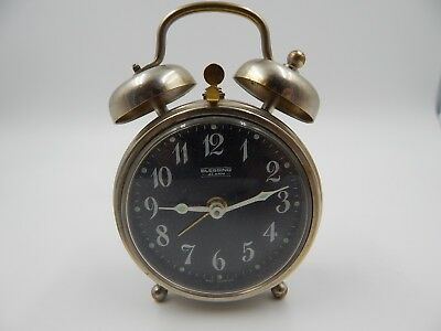 Vintage Blessing Miniature Alarm Clock West Germany Mini
