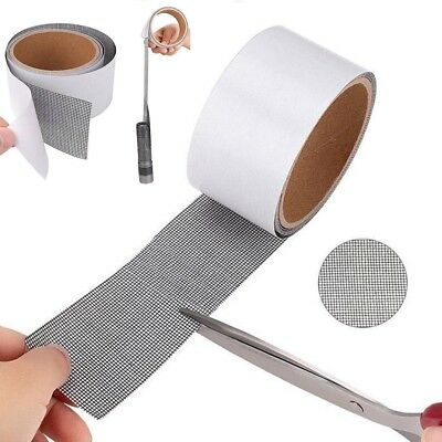 Insects Screen Repair kit Mosquito Door Window Net Sticky Roll Tape Patch 200cm