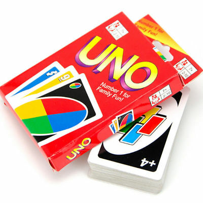 Uno Playing Cards Family Friends Fun Educational Traditional Board Game Pack