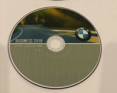 BMW Update DVD Road Map Europe BUSINESS 2019  NEW  DVD1