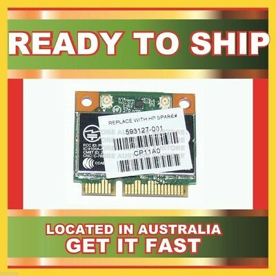Genuine 593127-001 Hp Wifi N Bluetooth Half Pcie Card For 430 431 435 436