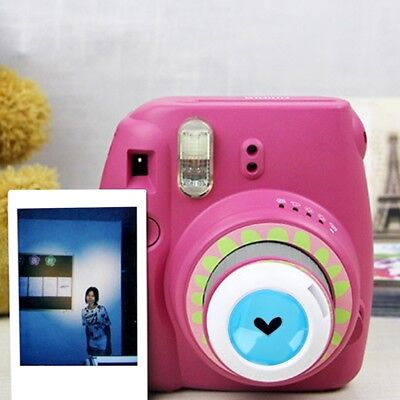 Close Up Color Lens Filter For Fujifilm Instax Mini 7s/8/8+/9/Kitty Film Camera