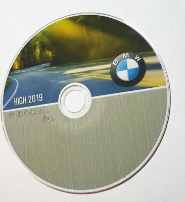 BMW High MK4 DVD 2019 Europe DVD-Navigation MK4 DVD1