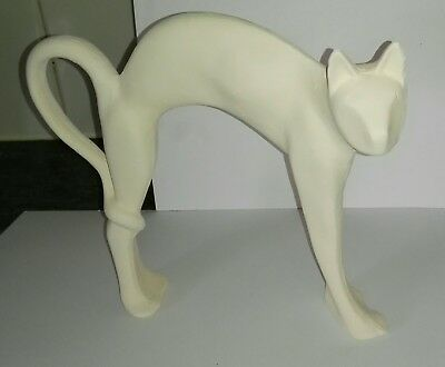 Ceramic Bisque Arched Cats - Paint your own