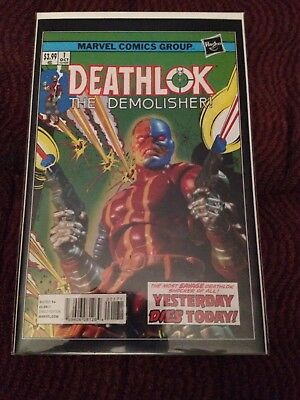 Deathlok The Demolisher! #1    Rare HASBRO variant, NM