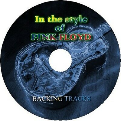Pink Floyd In The Style Of Guitar Backing Tracks Cd Best Greatest Hits Music