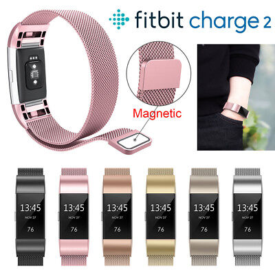 Wrisband Bracelet For Fitbit Charge 2 Heart Rate Fitness Tracker Replacement