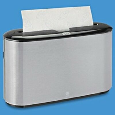 Countertop Multifold Paper Hand Towel Dispenser ~ TORK #302030 ~ Stainless Steel