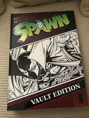 Spawn Vault Edition Todd McFarlane *signed*