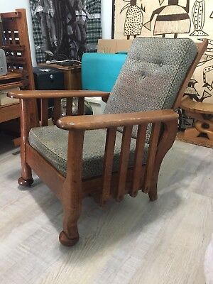 Antique Reclining Morris Chair