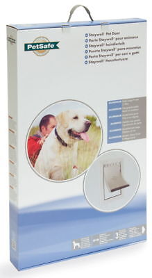 Staywell Heavy Duty Aluminium Dog Door White 69x42cm
