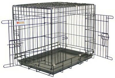 Dog Crate & Tray 109x71x79.5cm
