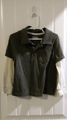 Boy Cherokee Long Sleeve Shirt Size 4T Toddlers
