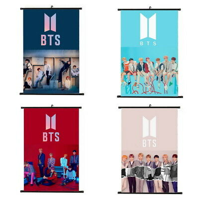 KPOP Bangtan Boys Love Yourself Answer Hanging Painting Art Painting Poster