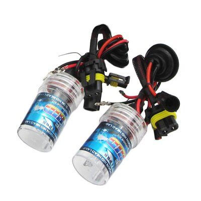 New Pair 55W 9006/HB4 HID REPLACEMENT BULB Single Bulb For MotorcycleNW