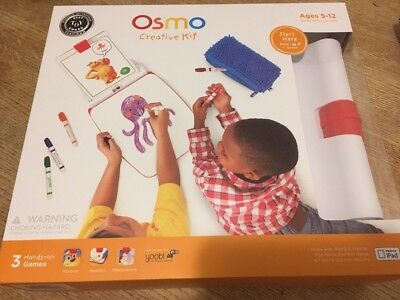 Osmo Creative Kit with Monster Game (iPad base included) New
