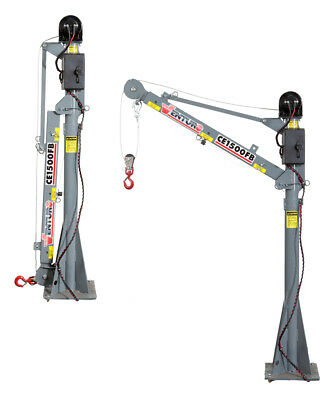 Venturo CE1500FB Electric Mast Crane - 1,500 LBS (Shipping Included)
