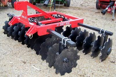 New Dirt Dog HD  8ft.(3 point) 200-22 Disc Harrow --Can ship very inexpensive!!!