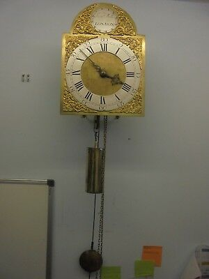 C1750 All original Brass dial Lantern Clock