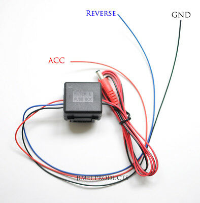 Car Rear View Camera Delay Timer With Filter For VW PQ35/46 MIB RCD330 Plus