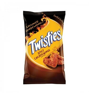 Twisties Spicy Chicken Wing 90g x 20