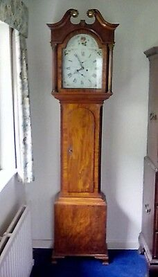 Gillows Lancaster Cased Antique Mahogany Longcase Clock,Eight Day Movement