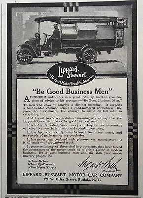 1916 Ad(F21)~Lippard-Stewart Motor Car Co. Buffalo, Ny. Business Trucks