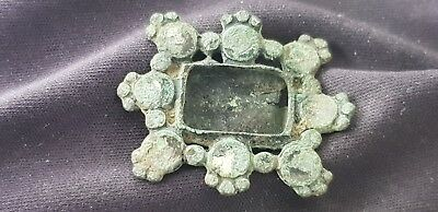 Lovely late post Medieval copper alloy brooch, Please Read Description. L117g