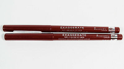 2 Rimmel Exaggerate Full Colour Lip Liner #064 OBSESSION