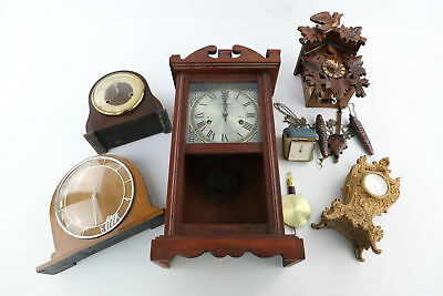 6 Hand / Key Wind Mantel / Wall / Cuckoo Clocks Spares Repairs inc Smiths
