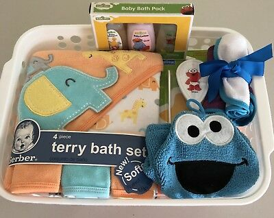 BABY GIFT BASKET for Bath - All New Items