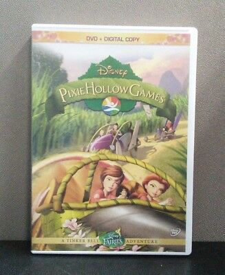 Authentic Disney: Pixie Hollow Games     (DVD)     No Digital     LIKE NEW