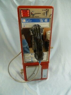 New Orange Protel 7000 GTE Working Payphone Mans Room Business Pay Phone Home