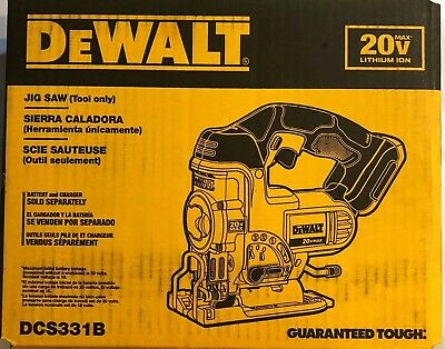 Dewalt DCS331B 20 volt max Cordless Jig Saw Bare tool New in the box