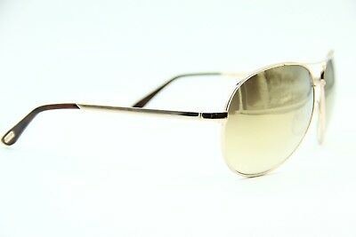 725f877119a62e Tom Ford Tf 35 28G Charles Gold Sunglasses Authentic Tf35 62-12 W case